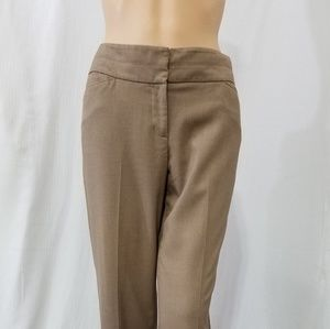 Ann Taylor loft size 6 tan career pants